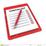 checklist pix